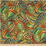 0291763 Crescendo Swirly Leaves Metallic Spice