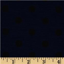Ponte De Roma Knit Dots Navy/Black