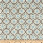 0278876 Riley Blake One For The Boys Damask Blue