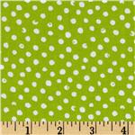 FJ-613 Play Date Confetti Dot Lime
