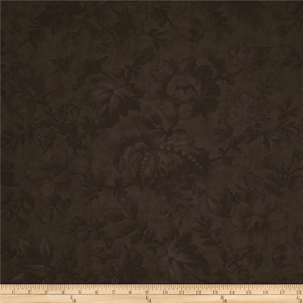 "Moda Double Chocolat 108"" Quilt Backing Brown"
