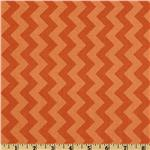 FT-928 Riley Blake Chevron Small Tonal Orange
