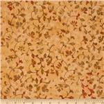 229563 Tonga Batik Berry Crisp Scroll Flowers Harvest