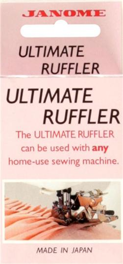 Janome Universal Ultimate Ruffler Accessory