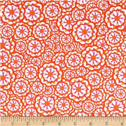 Kanvas Lilified Flower Power White/Orange