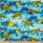 Michael Searle Novelties Sea Turtles Blue