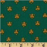 Global Gardens Abstract Dots Gold/Teal