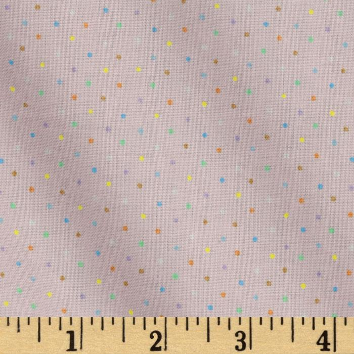 Brights & Pastels Basics Pindot Light Pink