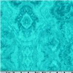 BK-316 Flannel Tie Dye Turquoise