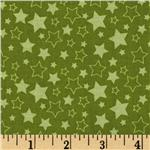 223191 Riley Blake Pieces of Hope Stars Green