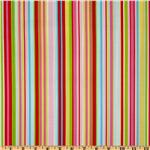 FD-141 Timeless Treasures Tweet Stripe Red