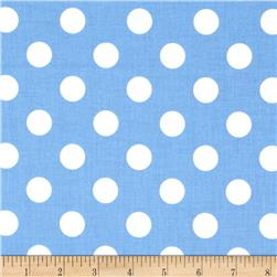 Riley Blake Medium Dots Medium Blue