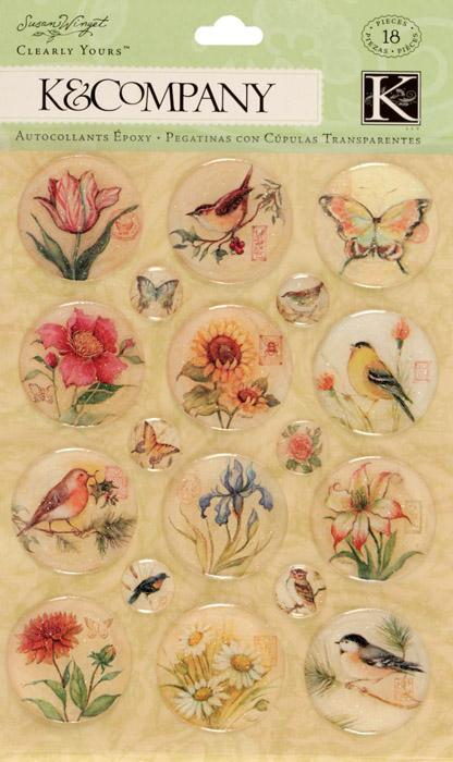 Susan Winget Nature Icons Clearly Yours 18/pcs