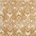 Paris &amp; Company Damask Gold