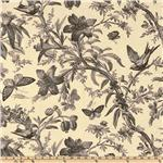 UE-994 P Kaufmann Aviary Toile Ebony