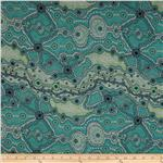0285510 Yalke Abstract Turquoise