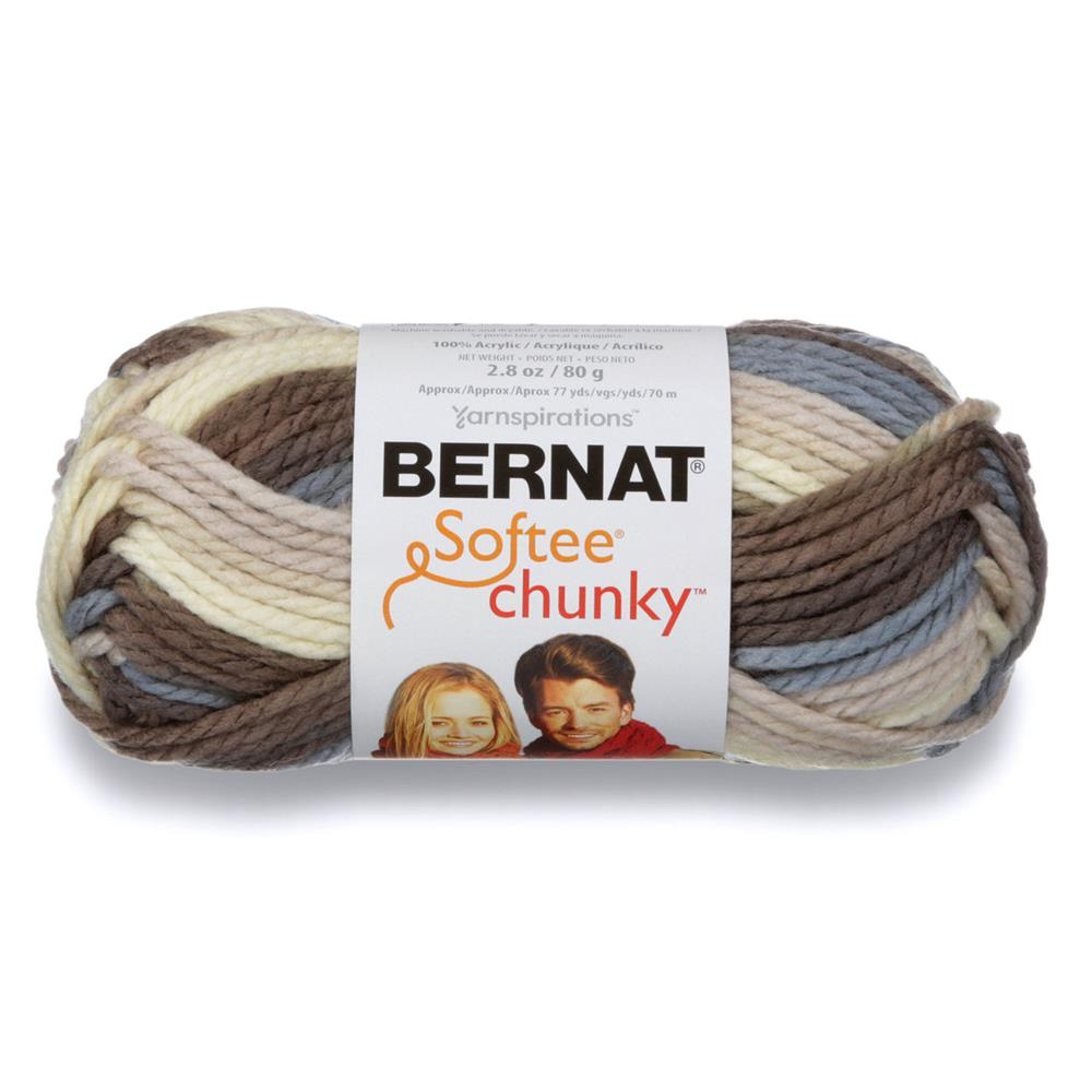 Bernat Softee Chunky Yarn (29012) Nature's Way