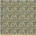 Premier Prints Little Zebra Slub Olive