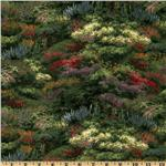 FL-883 Thomas Kinkade Landscape Green