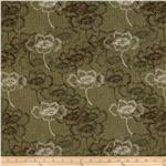 Abbey&#39;s Garden Floral Stripe Olive/Pink