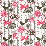 Premier Prints Indoor/Outdoor Menagerie Preppy Pink