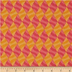 Savvy Swirls Diamond Stripe Pink