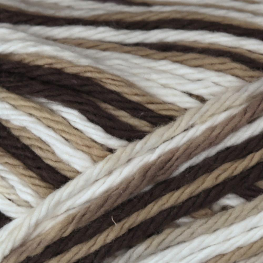 Peaches & Creme Ombre Yarn (02015) Hot Cocoa