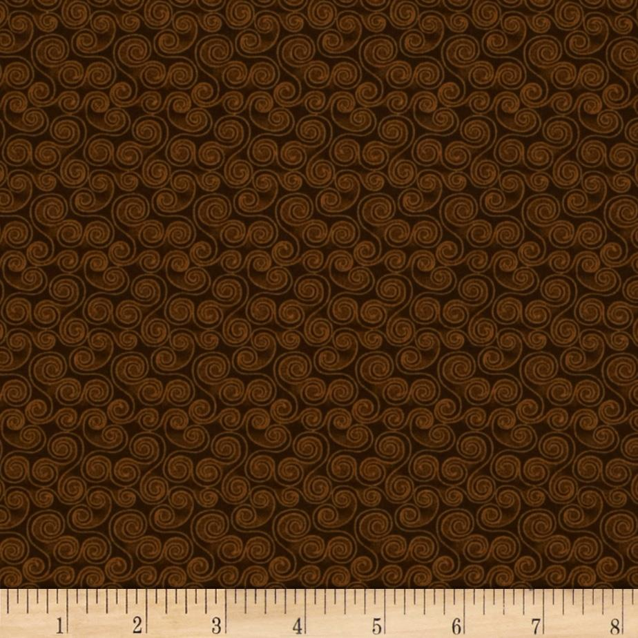 A Cat For All Seasons Catnip Scroll Brown