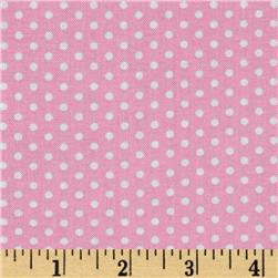Kaufman Spot On Pindot Pink