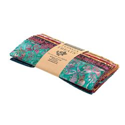"Tonga Batik Boysenberry Treat 10"" Squares"