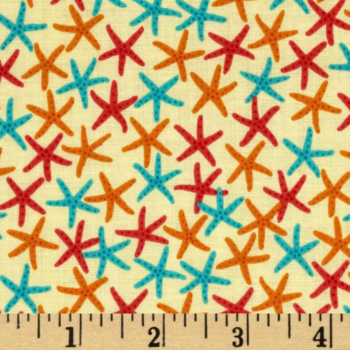 Surfin Monkeys Starfish Orange/Red