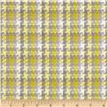 HGTV Home Checkered Past Woven Jacquard Platinum
