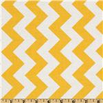 FO-214 Riley Blake Chevron Medium Yellow