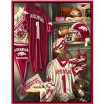 Collegiate Locker Room Fleece Panel University Of Arkansas