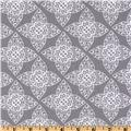 Ty Pennington Home Decor Impressions Lace Gray