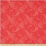 Visual Effects Paisley Coral