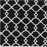 Waverly Sun N Shade Chippendale Fretwork Onyx