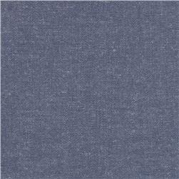 Kaufman Chambray Union Stretch 4 oz Shirting Dark Indigo