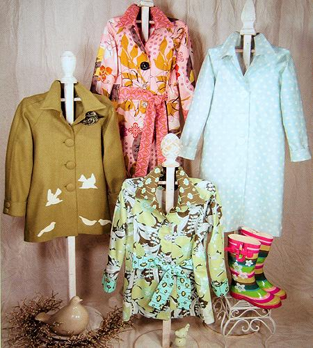 Serendipity Studios Sophia Trench Coat Pattern