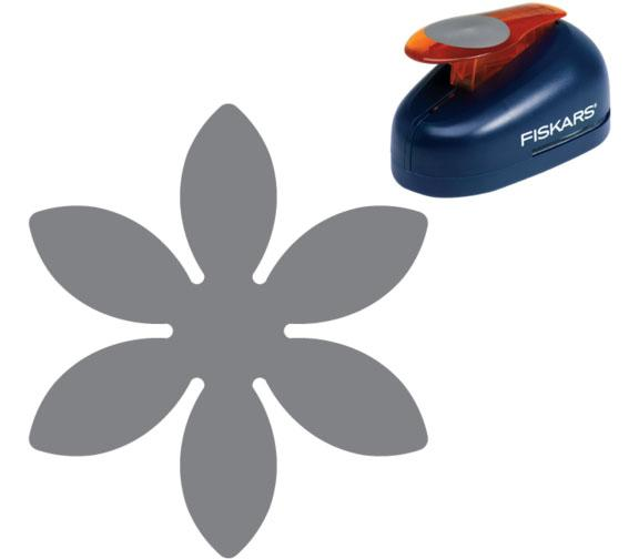 Fiskars Lever Punch Small Flower