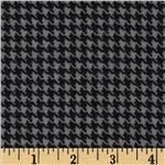 Great Scotts Flannel Houndstooth Grey
