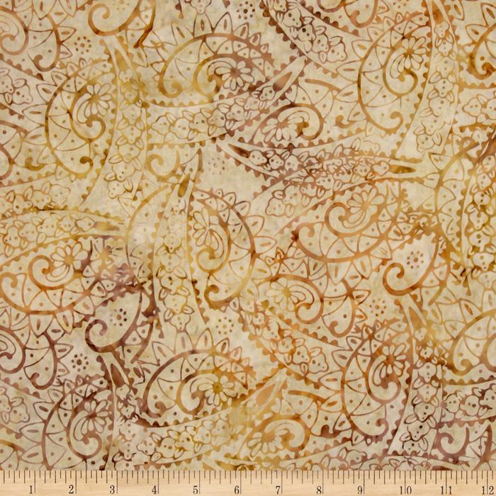 Tonga Batik Berry Crisp Flourish Ginger