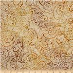 214560 Tonga Batik Berry Crisp Flourish Ginger