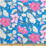 Misaki Mallow and Bee Jaipur Blue