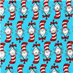 DI-501 The Cat In The Hat Cat Stripe Turquoise