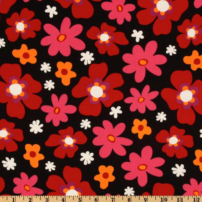 Blossom Toss Red/Black