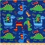 214745 Michael Miller Retro Dino Dudes Navy
