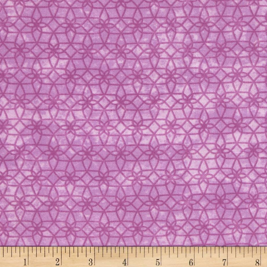 Serenity Garden Grid Purple