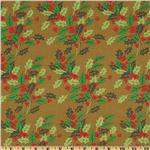 FH-170 Anna Griffin Twinkle Bright Holly Gold