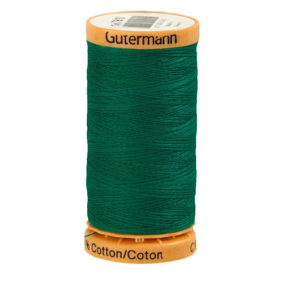 Gutermann Natural Cotton Thread 250m/273yds Green